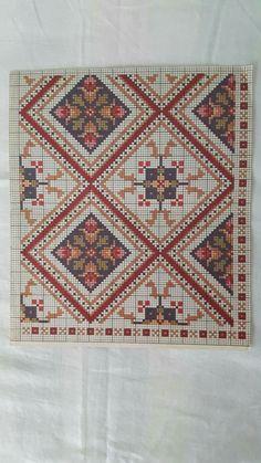 Cross Stitch Patterns, Crochet Patterns, Palestinian Embroidery, Cross Stitching, Needlepoint, Needlework, Bohemian Rug, Ornament, Rugs