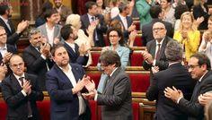 El Tribunal Constitucional anula los acuerdos del Parlament que permitieron convocar el 1-O
