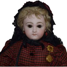 Rare French Wood Body Petit & Dumoutier Parisienne Poupee Bois from joan-lynetteantiquedolls on Ruby Lane. This 18 inch tall French fashion doll, circa the 1870s, was distributed by Petit & Dumoutier. The PD firm manufactured the articulated wood body with its signature metal hands. The head was commissioned from Gaultier.