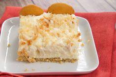 Coconut Cream Pie Bars .