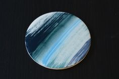 blue coaster by belatrova