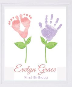 Baby Footprint Art, Forever Prints hand and footprint keepsake for kids or baby…. Baby Footprint Art, Forever Prints hand and footprint keepsake for kids or baby. Mother's Day, New Mom, Nursery Art Baby In loving memory – Kids Crafts, Toddler Crafts, Kids Diy, Infant Crafts, Easter Crafts For Toddlers, Toddler Art, Family Crafts, Toddler Toys, Diy Niños Manualidades