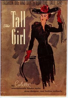 C1943 Tall Girl Fashion Dos and Don'TS Booklet   eBay