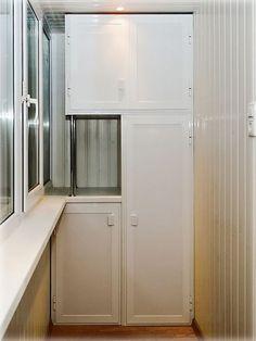 Какой сделать шкаф на балкон?