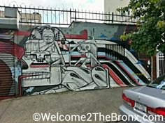 Bronx Mural of The Day: Graffiti Artists How & Nosm With Aryz