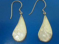 Mother of Pearl Earrings #Unbranded #DropDangle