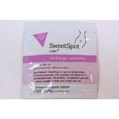 SweetSpot Labs On-The-Go Wipettes - Geranium Lavender