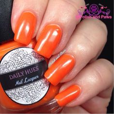 Daily Hues Nail Lacquer Shifty Neons Collection (partial)