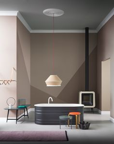 In love with these two very on Trend interior editorial by Italian photographer Beppe Brancato for Living.