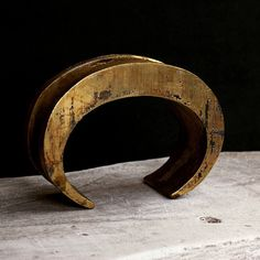 Crescent bracelet - Channel #acidgold #partsof4 #AW13