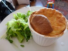 Souffle au fromage (Cheese Souffle)