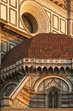 Italy - Florence - Cathedral detail