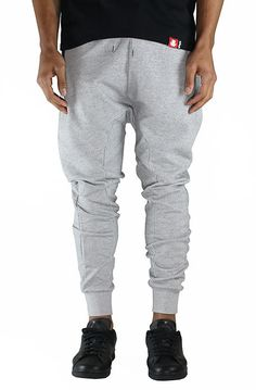 French Terry Gray Joggers