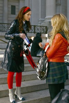 #blair #waldorf #queen #gg #leighton #diva #season #one #1x13 #TheThinLineBetweenChuckandNate""
