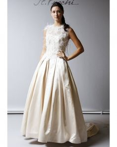 Ball Gown - I don't care for the feathery top, but I love the color of the satin bottom.