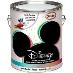 """Disney Speck-Tacular Interior Specialty Paint - walmart - LOVE THIS. would be cool in a little girl or teens room! or even to make a """"galaxy room"""" for a young boy!"""