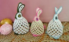 2owieczki: marca 2014 Easter Crochet, Photo Tutorial, Holiday Decor, Holiday Ideas, Christmas Ornaments, Sewing, Pattern, Home Decor, Sea
