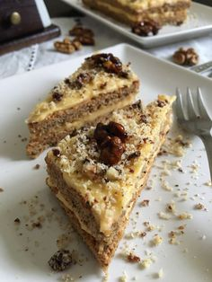 Diet Recipes, Cooking Recipes, Healthy Recipes, Hungarian Recipes, Healthy Cake, Gluten Free Desserts, Banana Bread, Food And Drink, Low Carb