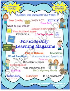 Math + Language Arts  Bundle! Interactive Learning Packet Early Finishers! Centers!  from Kimberly Sullivan on TeachersNotebook.com -  - This learning packet bundle has numerous activities for review. Great for centers, homeschool, individualized instruction, small or whole class instruction! Math! Language Arts, + more!
