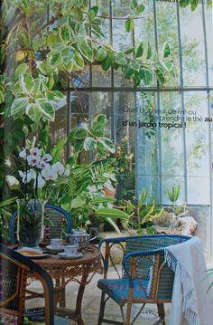 Huis: Serre-Balkon-Veranda-Tuinkamer-Kas-Oranjerie *Porch-Conservatory-Balcony-Greenhouse ~Oase van rust *Oasis of Peace~