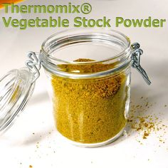 Vegetable Stock Powder for the Thermomix® Thermomix® Vegetable Stock Powder – TM Essentials Salad dressing in stock – APizza rolls / vegetable scww vegetable casserole Challah, Pan Dulce, Thermomix Recipes Healthy, Thermomix Soup, Thermomix Desserts, Savoury Recipes, Home Recipes, Cooking Recipes, Recipes Dinner
