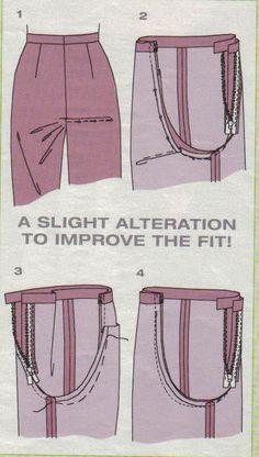 New Photos sewing pants Tips Sewing hacks pants 15 Ideas Sewing Pants, Sewing Clothes, Diy Clothes, Free Sewing, Hand Sewing, Clothing Patterns, Sewing Patterns, Shirt Patterns, Dress Patterns