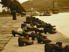 Holocast War Memorial - Bhudapest, Hungary