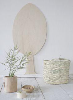 Silhouette arbre en peuplier pour décorer vos murs. Made in France. Naturel et simplicité pour un style authentique et chaleureux.