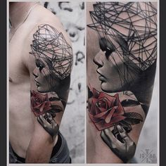 Done by Timur Lysenko, tattoo artist based in Wroclaw, Poland TattooStage.com - Rate & review your tattoo artist. #tattoo #tattoos #ink