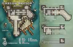 Chelish Bastion by butterfrog on DeviantArt