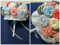 DIY Fabric Flower Bouquet!