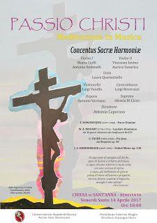 """PALCOSCENICO IN CAMPANIA.it: """"Meditazione in Musica"""" sulla """"Passio Christi"""": co..."""