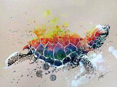 Красочные работы сингапурского художника Tilen Ti