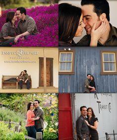 San Juan Capistrano engagement, Engagement Photography, Gilmore Studios, Kiss, Love, Engagement, Couple, Purple Flowers, Flowers, Vintage