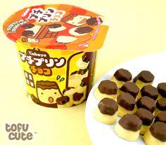 Buy Kabaya Petit Pudding Mini Chocolates at Tofu Cute GIGAPUDIII!