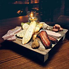 """Free Times """"Best of Bite of the Week by Jonathan Sharpe - housemade charcuterie plate at Motor Supply Columbia South Carolina, Charcuterie Plate, How To Make Sausage, House Made, Mousse, Tapas, Slow Cooker, Bacon, Restaurant"""
