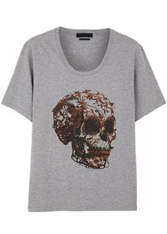 Alexander McQueen skull print