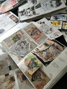 Arte Gcse, Art Sketches, Art Drawings, People Drawings, Disney Drawings, Pencil Drawings, Art And Illustration, Architecture Drawing Art, Architecture Portfolio