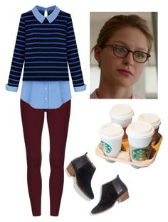 """""""Kara Danvers"""" by rebellious-ingenue ❤ liked on Polyvore featuring Madewell"""