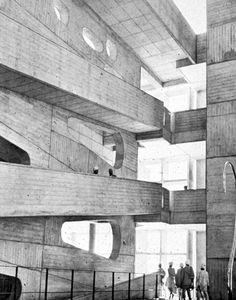 Palace of Justice - Chandigarh India - Le Corbusier 1951-56
