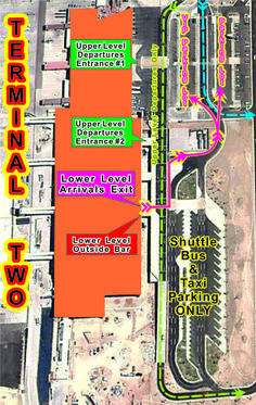 New Airport Map: Los Cabos International Airport Terminal Two