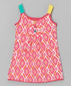This Fuchsia Diamond Pin Tuck Tunic - Infant & Girls is perfect! #zulilyfinds