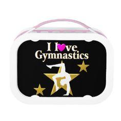 GOLD STAR GYMNAST YUBO LUNCH BOX http://www.zazzle.com/mysportsstar/gifts?cg=196945324741962519 #Gymnastics #Gymnast #IloveGymnastics #Gymnastgifts #WomensGymnastics #USAGymnastics #Gymnasticsgifts #Gymnastgift