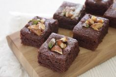 Brownies z červené řepy: To musíte vyzkoušet! Brownies, Healthy Cake, Organic Recipes, Food For Thought, Cookies, Quilling, Vases, Fitness, Bowls