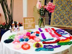 Headband bar-baby shower