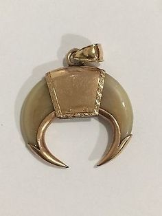 VICTORIAN DOUBLE TIGER CLAW BROOCH