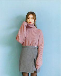 O-Ring Wool Wrap Skirt