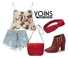 """""""Yoins-10\7"""" by sejla-imamovic ❤ liked on Polyvore featuring moda, See by Chloé y Michael Antonio"""