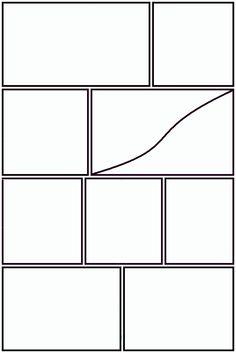 8 best Manga Panels images on Pinterest   Templates, Comic books and ...