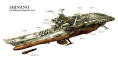 Rocketumblr | 小林誠 Makoto Kobayashi 宇宙戦艦ヤマト復活篇 宇宙戦艦ヤマト2199